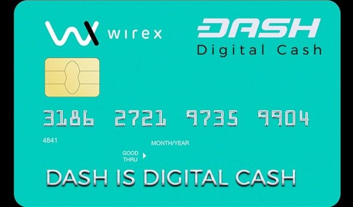 Кредитная карта Dash