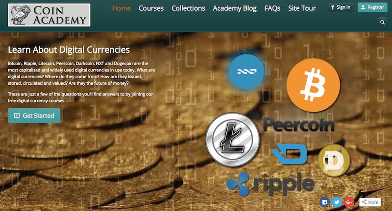 CoinAcademy – первая школа криптовалют