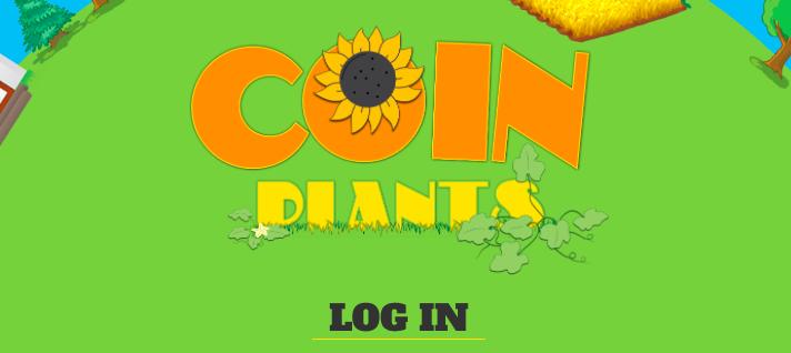 Биткоин игра-ферма Coinplants