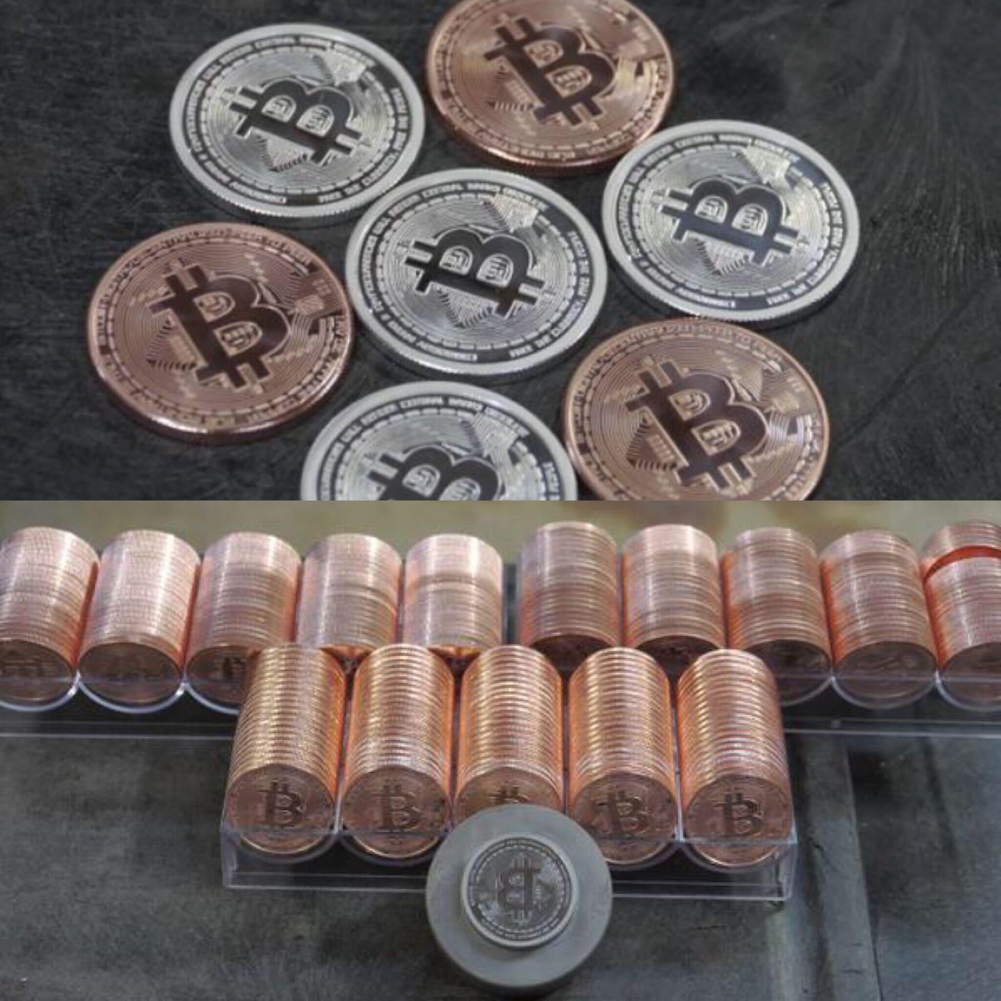 Физическая биткоин монета - узнай, как выглядит биткоин ...