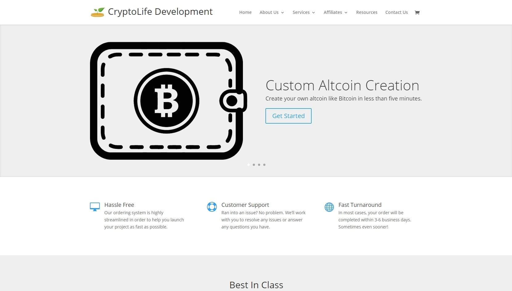 Сервис CryptoLife