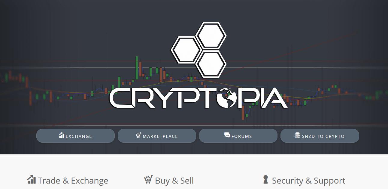 Cryptopia главная