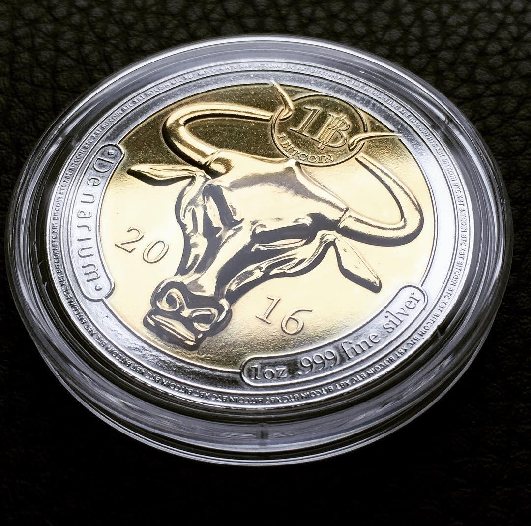 Монета Denarium