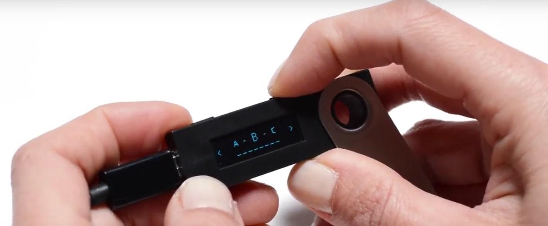 Восстановление Ledger Nano S