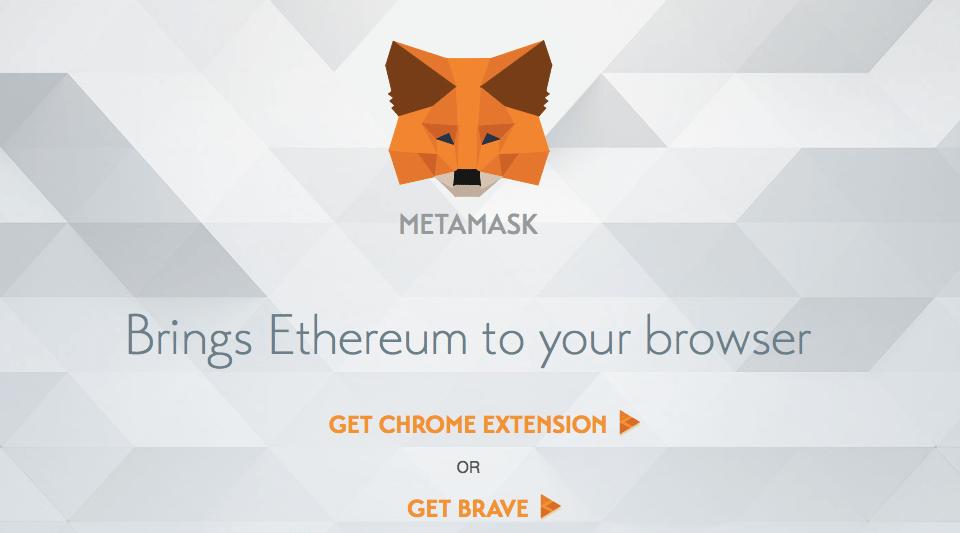 Кошелек-расширение для Google Chrome MetaMask: главная