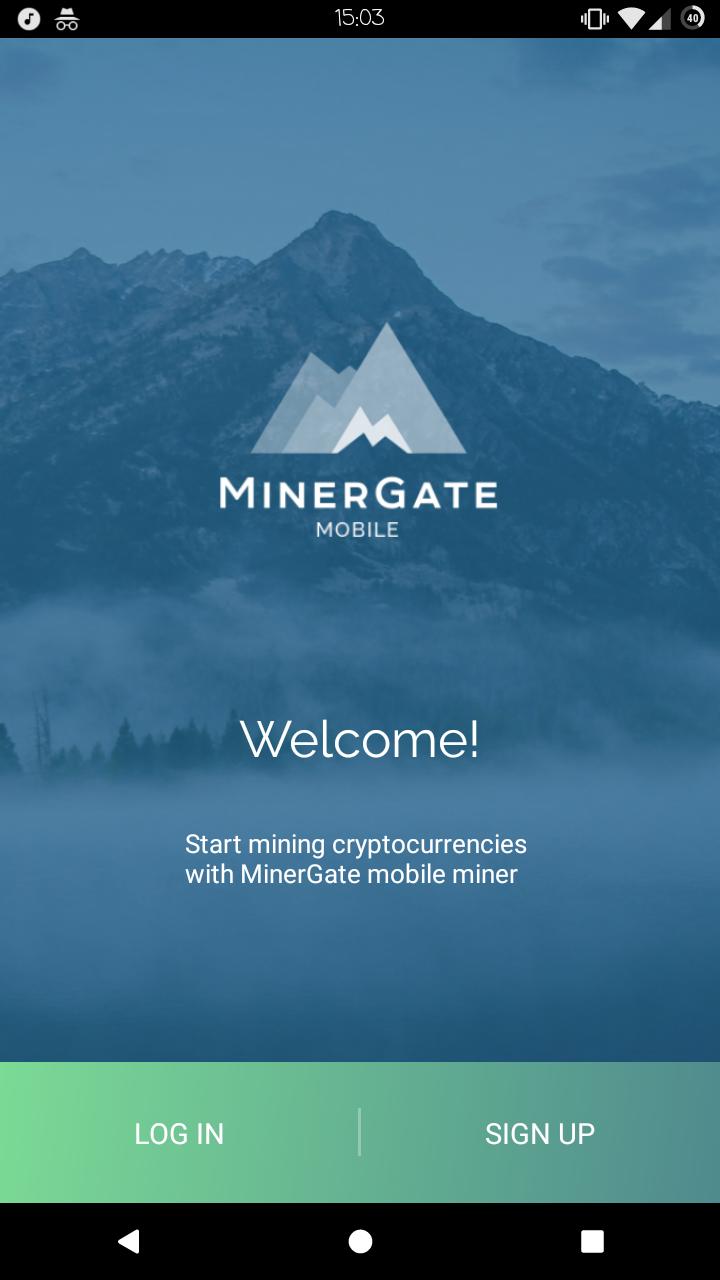 Приложение MinerGate