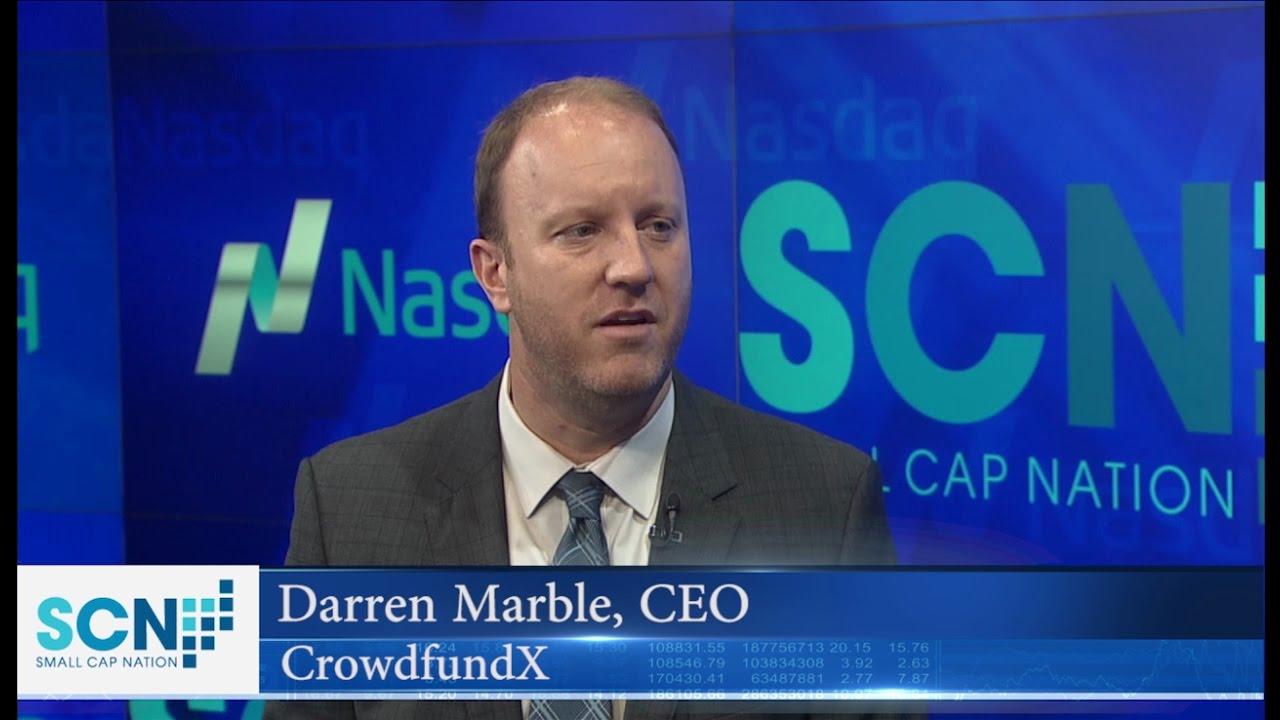 Даррен Марбл, CrowdfundX