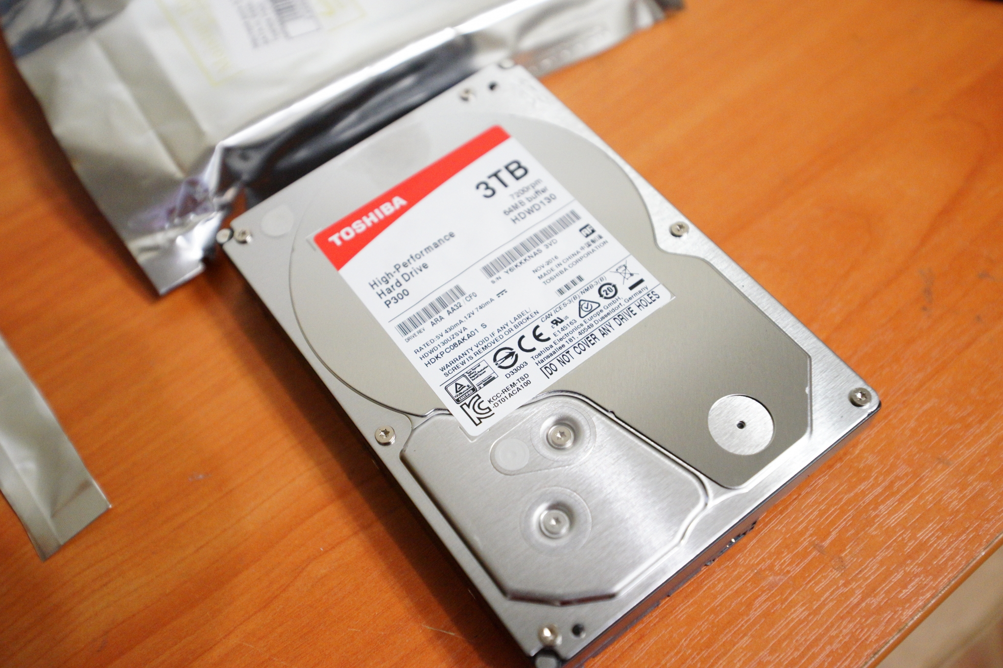 Toshiba HDWD130EZSTA 3Tb