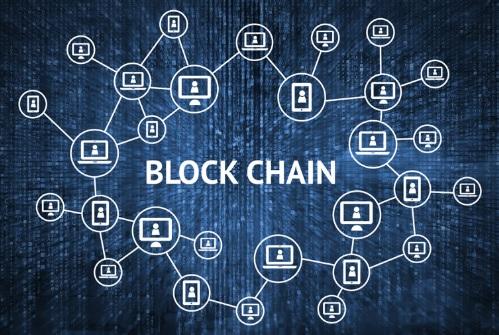 Схема блокчейн цепи