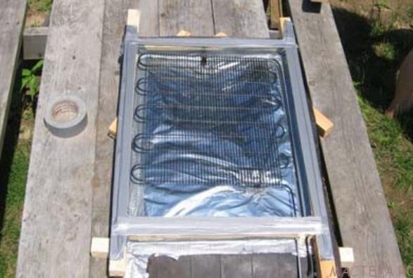 Солнечная панель из фольги