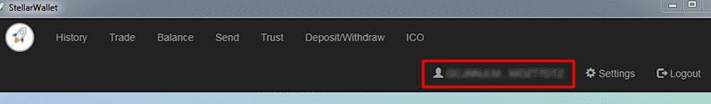 Stellar Desktop Client адрес кошелька