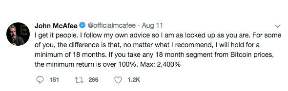 Мнение Джона Макафи