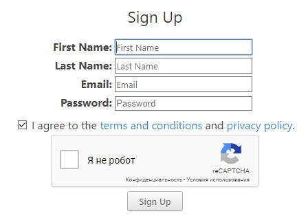 Регистрация на Eobot