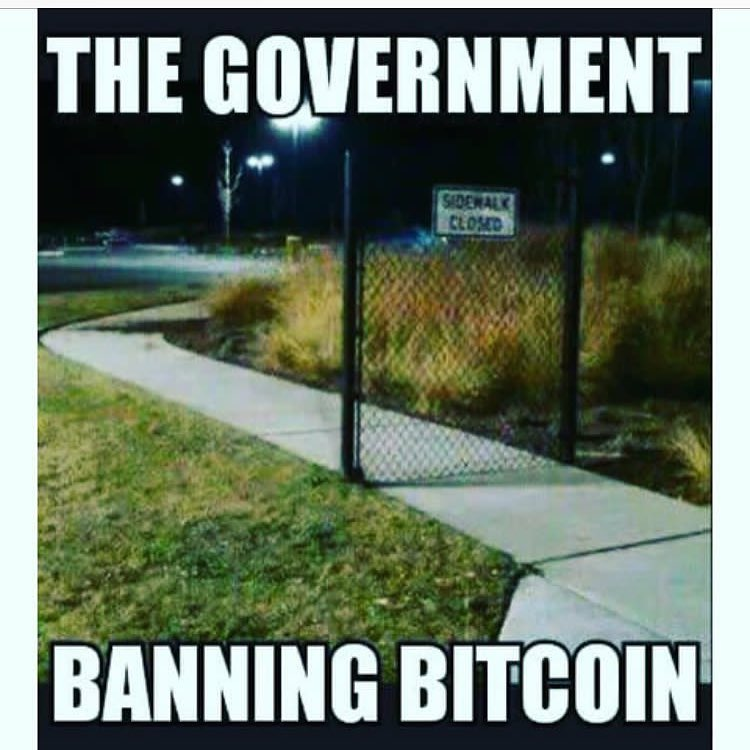 Государство банит биткоин