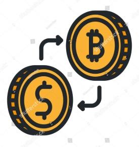 Обмен фиата на биткоин