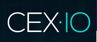 Продажа биткоина на CEX.IO