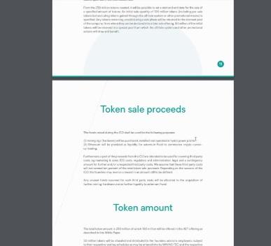 Пример White Paper в ICO